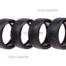 4P 1/10 Scale RC On-road Car 26MM Double Drift Tyre For HPI HSP Tires 5007