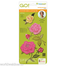AccuQuilt GO! & Baby GO! Coming Up Roses by Michelle Griffith 55150