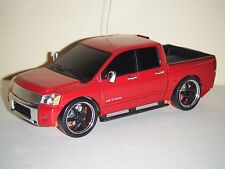 Xmods RC Truck Evo Red NISSAN TITAN & Drop And Slam