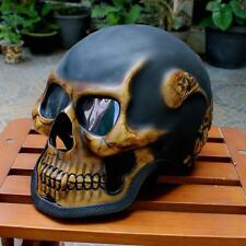 Motorcycle Helmet Skull Skeleton Death  Rim Reeper Ghost Full Face. New  M - 2XL