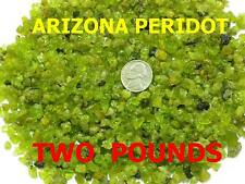 ARIZONA PERIDOT - TWO POUNDS MINE ROUGH - NATURAL UNTREATED - AUGUST BIRTHSTONE