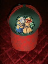 YOUTH MINION CHRISTMAS HAT CAP NEW WITH TAGS