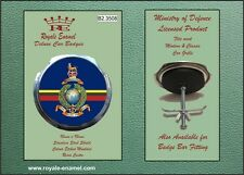 Royale Military Car Grill Badge - ROYAL MARINES GLOBE & LAUREL INSIGNIA B2.3508