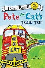 Pete the Cat Train Trip Kids Beginning Reading Book Practice My First I Can Read