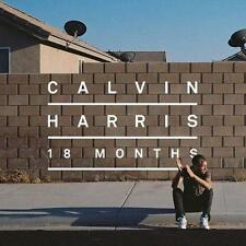 CALVIN HARRIS (18 MONTHS CD - SEALED + FREE POST)