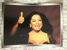 DIANA ROSS - OLD POLISH POSTCARD