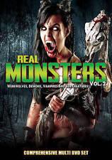 Real Monsters, Vol. 2: Werewolves, Demons, Vampires and Sea Creatures (DVD,...