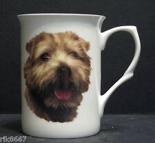 Norfolk Terrier dog (Head BF) Fine Bone China Mug Cup Beaker