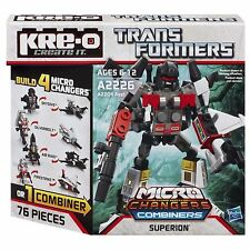 SUPERION Transformers KRE-O Set MISB new MICRO CHANGERS COMBINERS kreo kreon