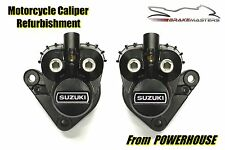 Suzuki GT 750 73-77 front brake caliper refurbishment service 1976 1977