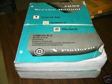 1997 GM GRAND AM ACHIEVA SKYLARK Shop Manual