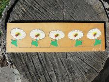 NUOVO Puzzle ad incastro in legno fiori