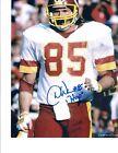 Signed 8x10 Don Warren Washington Redskins Autographed photo - w/COA