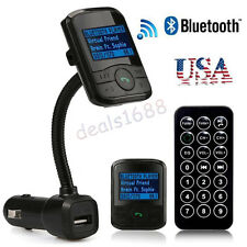 Wireless Bluetooth FM Transmitter USB Charger Car Kit MP3 Handsfree Remote US