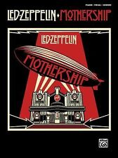 Mothership: Piano/Vocal/Chords, Led Zeppelin, New Books