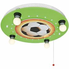 Deckenleuchte Deckenlampe Kinderzimmer Fußball 4x E14/max.40W + LED * ELOBRA