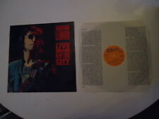 John Lennon ‎– Live In New York City  Supraphon ‎– 1113 4407 Vinyl LP 1987