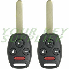 2 New 2003 2004 2005 2006 2007 Honda Accord Remote Key Fobs OUCG8D-380H-A