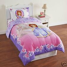 DISNEY SOFIA THE FIRST TWIN SIZE COMFORTER, PRINCESS IN TRAINING