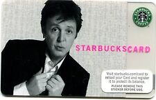 2007 NEW - UNUSED Paul McCartney Limited Edition Starbucks Card