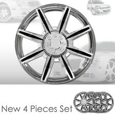 New 16 inch ABS Chrome Hubcaps Wheel Rim Covers Hubcaps Set 541 For Chevrolet