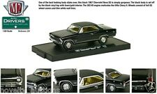 M20 11228 28 M2 MACHINE AUTO DRIVERS 1967 CHEVY NOVA SS BLACK  TOP 1:64