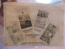 Orig 1925 Erasmus Hall High School Sports Baseball Page Brooklyn