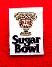 1986 Sugar Bowl Trophy Lapel Pin NCAA Football gmu1