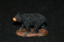 "Black Bear Figurine-- Poly Resin-- 2 1/8""L x 1 5/8"" W x 1 5/8""H"