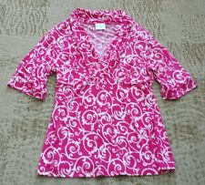 Tailor B. Moss Clothing Company Shirt size medium M - pink/white