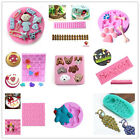 Silicone Fondant Cake Mold Baking Tool Party Ice Jelly Candy Cake Decor Mould