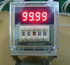 12VDC DH48S-1Z Digital Timer Relay On Delay 8 Pins SPDT Reset/Pause Function