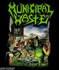 MUNICIPAL WASTE cd cvr THE ART OF PARTYING Official SHIRT LRG new