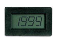 VOLTMETRO DIGITALE LCD DA INCASSO A 3 1/2 CIFRE -VOLMETRO DA PANNELLO - PMLCDL