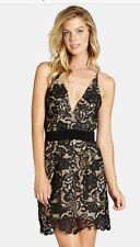 Dress The Population Ava Lace Mini Dress In Stores $208 Sz M