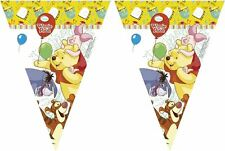 Winnie The Pooh 2.3m Flag Banner - Disney Birthday Party Bunting Decorations