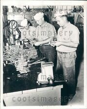 1947 Workers Ammunition Manufacturing US Cartridge Factory Press Photo