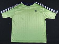 VTG 90S ADIDAS GREEN & NAVY BLUE S/S SOCCER JERSEY SHIRT FUTBOL FIFA EUC MENS XL
