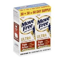 Schiff Move Free Ultra Triple Action Joint Supplement, 30+30=60 Ct