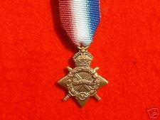 Quality World War 1 1914-15 Star  Miniature Medals