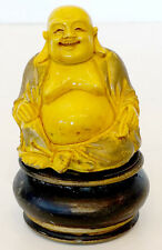 Antique CHINESE JAPAN Porcelain Pottery China SEATED BUDDHA STATUE Artist Signed