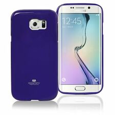 Korean Mercury TPU Case Cover for Samsung Galaxy S6 Edge Plus - Purple