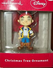 Hallmark Disney Xmas Tree Ornament Jake and the Neverland pirate boy decoration