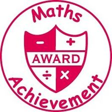 Maths Achievement - Self inking teacher reward xstamper stamp