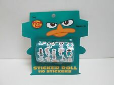DISNEY PHINEAS AND FERB STICKER ROLL - 110 STICKERS