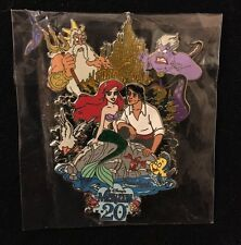 Disney The Little Mermaid 20th Anniversary Jumbo Limited Edition 500 Pin *Rare*