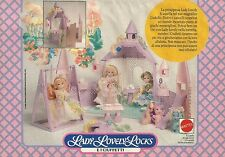 X2212Lady Lovely Locks - Il Castello - Mattel - Pubblicità 1988 - Advertising