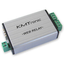 KMTronic LAN IP 2 Canaux Relais Carte Internet Ethernet Module BOX