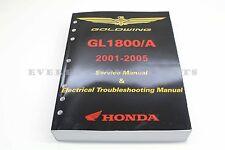New Genuine Honda Service Shop Repair Manual 2001-2005 GL1800 Goldwing OEM #N15
