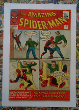 AMAZING SPIDER-MAN #4 - SEPT 1963 - 1st SANDMAN APPEARANCE!  - FN- (5.5) PENCE!